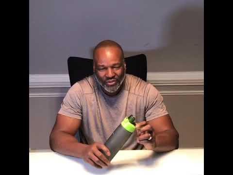 Sports Water Bottle - BPA Free - Water Bottles 25 Oz- 750 Ml Secure Lock Easy Open Insulated