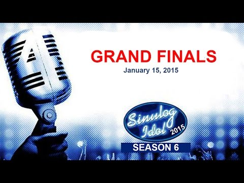 Sinulog Idol 2015 - Grand Finals Night