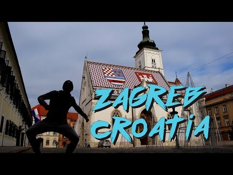 TOUR OF ZAGREB, CROATIA || TRAVEL VLOG