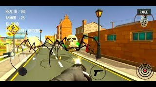 Spider Hunter Amazing City 3D #23 (SPIDERS 9-10) - Android/iOS Gameplay