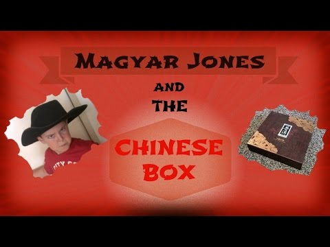 Magyar Jones and the Chinese Box ~ A (very) Short Movie