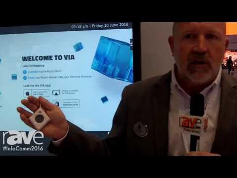 InfoComm 2016: Kramer Exhibits VIA Campus Collaboration System