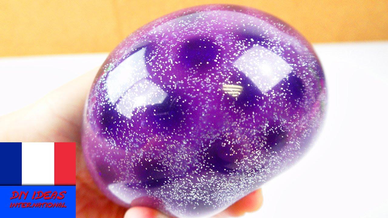 Très Balle anti-stress avec des perles Orbeez, de la matière visqueuse  IQ44