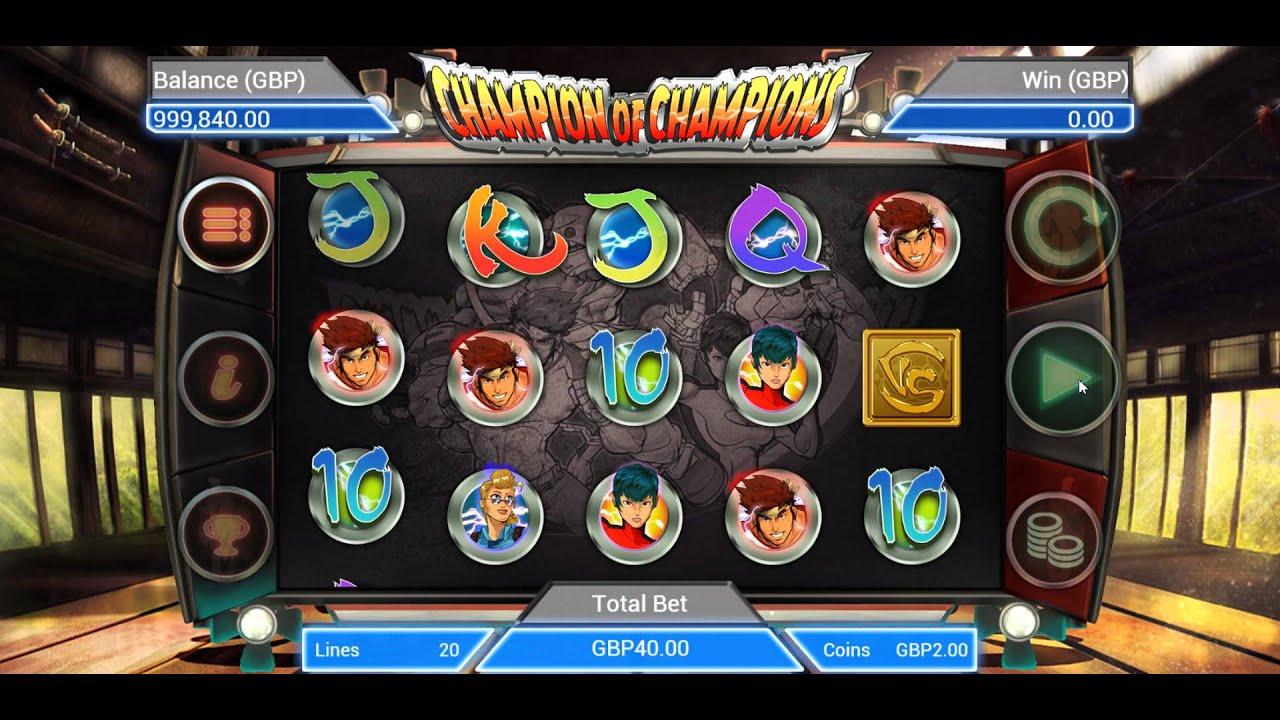 игровые автоматы чемпион