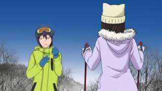 Смешные моменты из аниме бездомный бог.