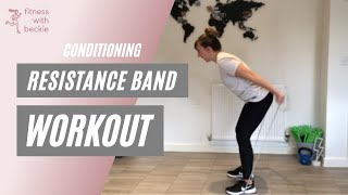RESISTANCE BAND | home workout with a resistance band | all abilities |