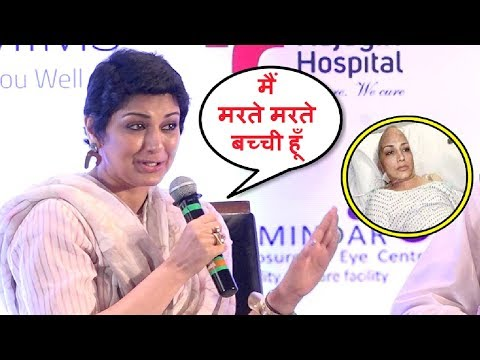 Sonali Bendre Cancer Interview Will Make You Cry! 😥😥😥