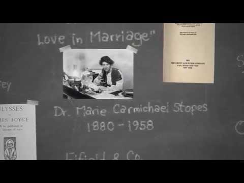 History 101 - Married Love & Marie Stopes
