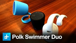 Polk BOOM's Swimmer Duo and Swimmer Jr. Bluetooth Speakers
