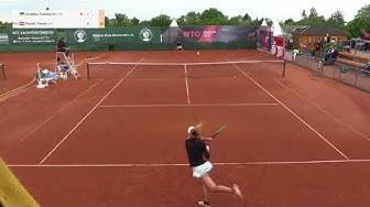 Zavatska Katarina v Paszek Tamira - 2018 ITF Wiesbaden