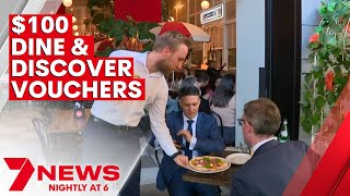 Dine & Discover $100 Vouchers To Be Used In Sydney 2000 | 7NEWS