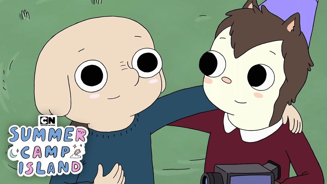 Oscar And Hedgehog S Documentary Summer Camp Island Cartoon Network Youtube