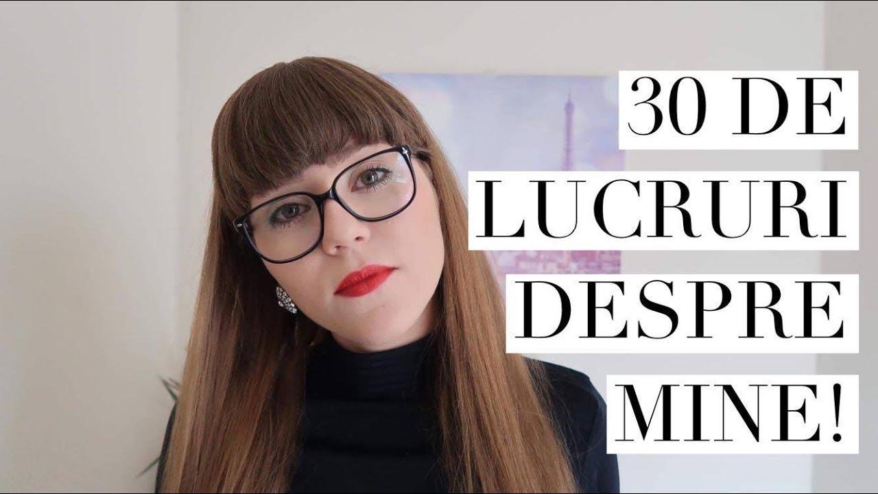 30 de lucruri despre mine: M-am vopsit?