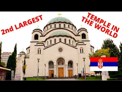 Giant Sveti Sava Temple - Belgrade