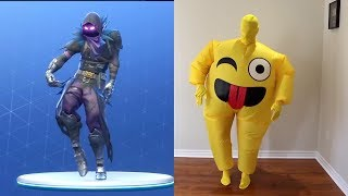 FamousTubeKIDS Fortnite Dance Challenge with Emoji