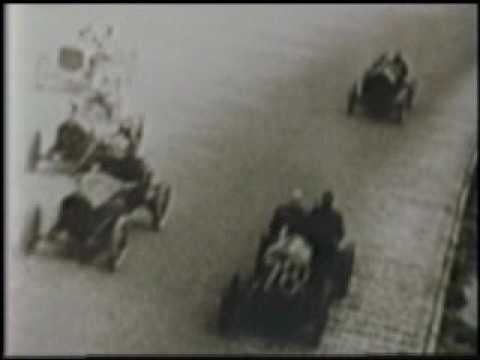 The First Indy 500 Race