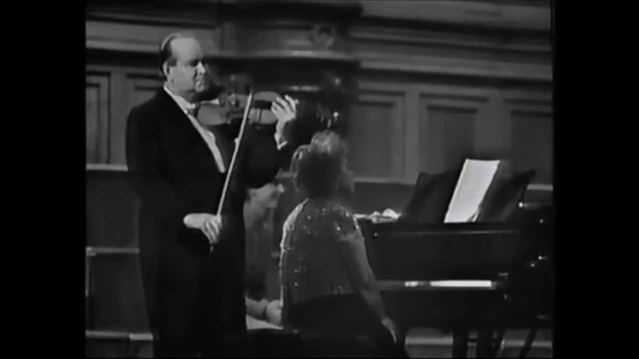 David Oistrakh - Debussy Prelude