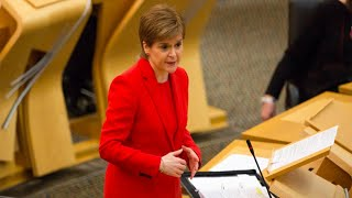 video: Politics latest news: Nicola Sturgeon to publish vaccine supply figures despite Government's demand not to