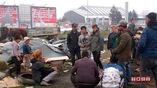 Мизерен живот на Ромите бездомници ...