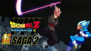 Dragon Ball Z Retro Battle X 3 - Super Saga 2 [PC/MacOSX] Enter The Super Realm! NA Trailer
