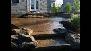 Unique Stamped Concrete Patio Ideas, Outdoor Space Designs, The Concrete Network Ideas #1