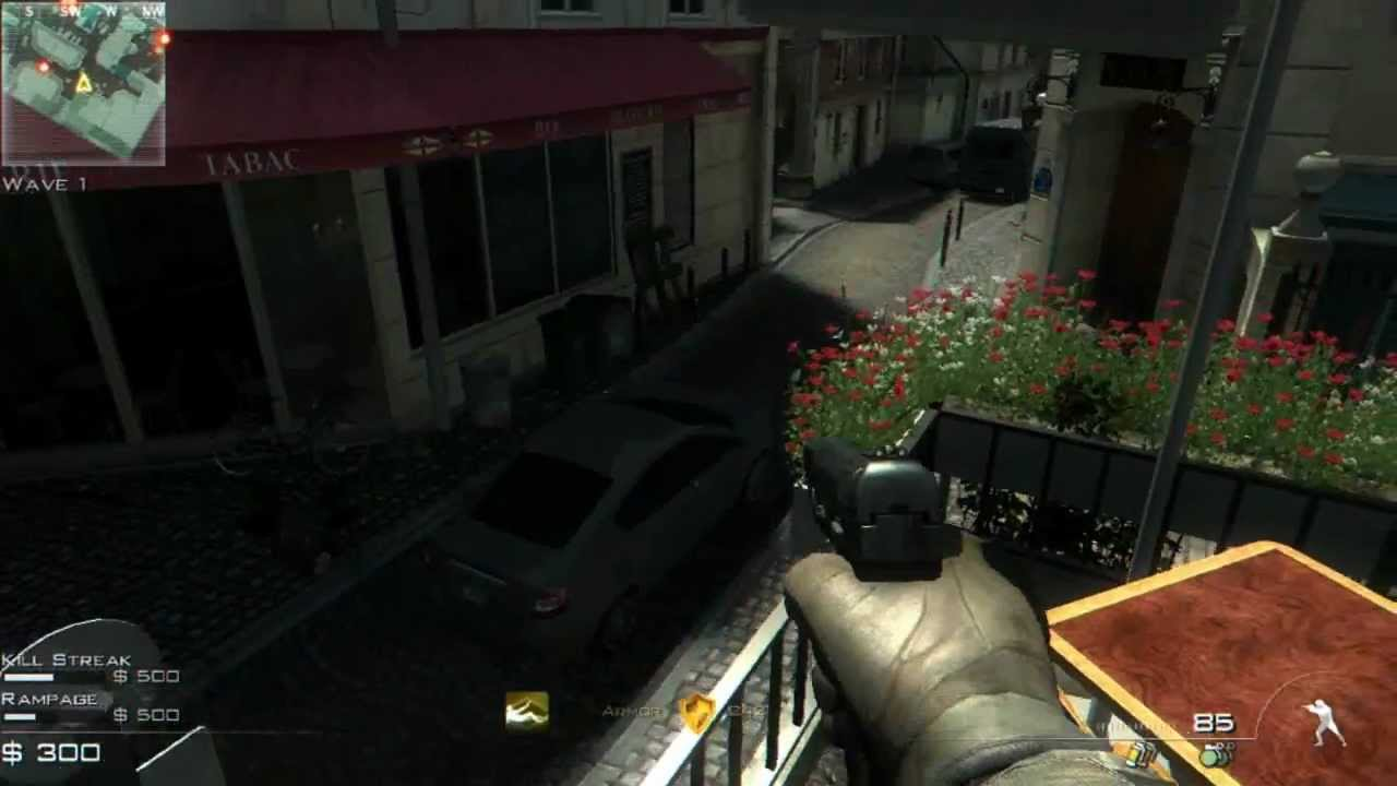 Cod : Mw3 gameplay on ATI HD 5450 1gb DDR3 + ENB Series graphics mod