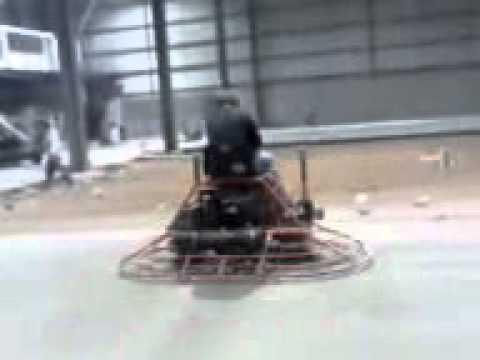 piso de concreto pulido con maquina allanadora doble youtube