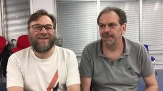 Vlada Novaković i Gojko Andrijašević o Remiju Crvene Zvezde i Kopenhagena   SPORT KLUB FUDBAL
