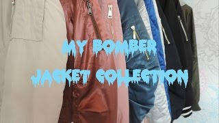 My Bomber Jacket Collection 2016