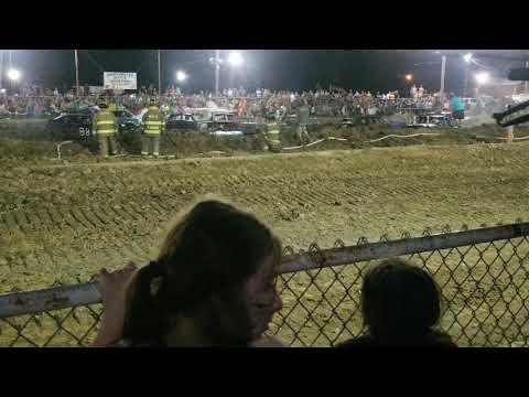 Hocking county fair 2018 demolition derby