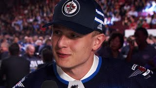 Vesalainen declines chance to rap at 2017 NHL Draft