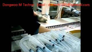 Syringe Blister packing Machine Disposable Syringe with Needles