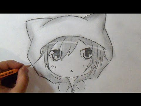 Paso A Paso Cómo Dibujar Un Chico Chibi How To Draw Chibi Boy