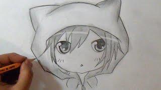"""Paso a Paso"" Cómo dibujar un Chico Chibi | How to Draw Chibi Boy Anime"