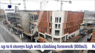 Howard Civil Engineering -  Victoria Gate - Leeds (time lapse)