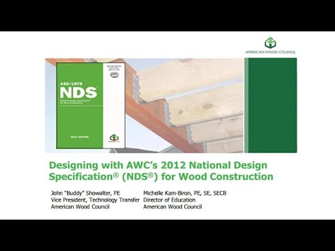 Std105 Designing With Awc S National Design