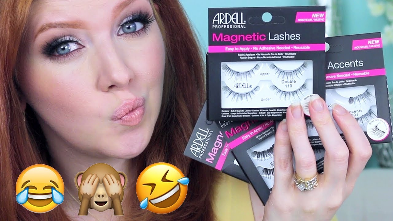 Drugstore Magnetic Lashes   Review + Application