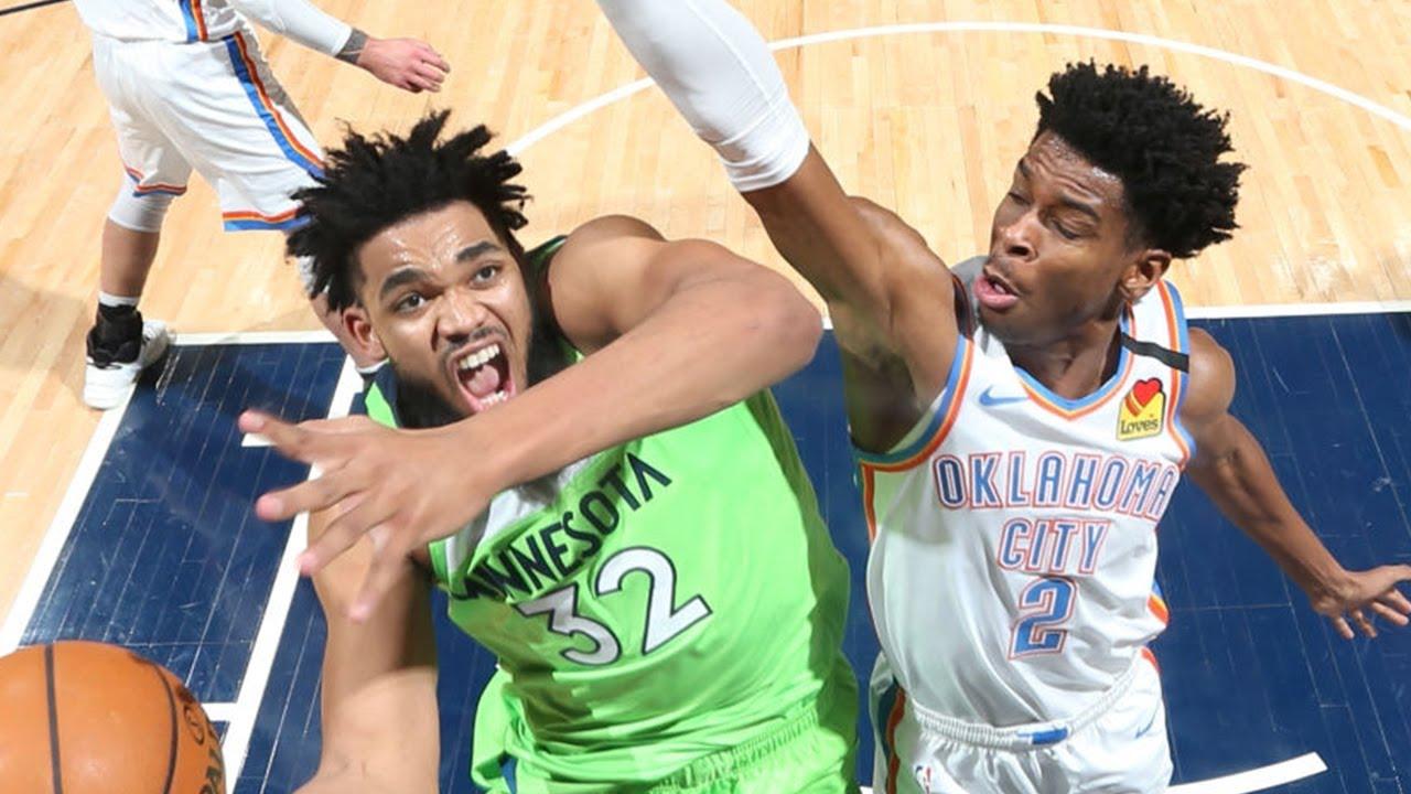 OKC Thunder vs Minnesota Timberwolves Full Game Highlights | January 25, 2019-20 NBA Season