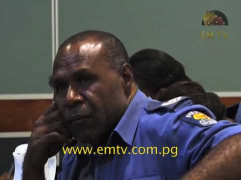 Momase Law and Justice officers receive training on criminal database system