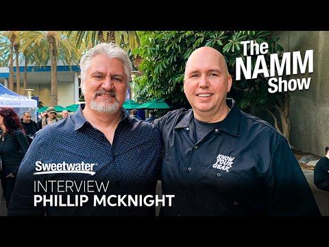 Phillip McKnight  at Winter NAMM 2020