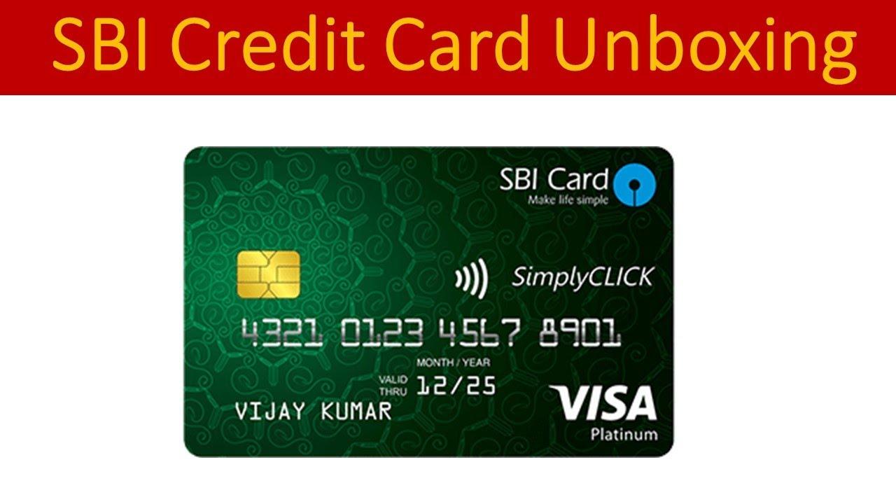 credit card application sbi bank