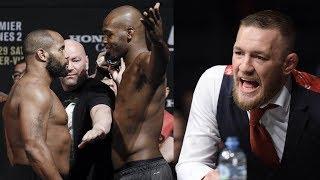 Дана Уайт о бое Джонс vs. Кормье 3, Конор МакГрегор может посетить бой Хабиба на UFC 242