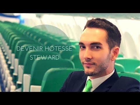 COMMENT DEVENIR HOTESSE DE L'AIR / STEWARD (ETUDES, FORMATION, RECRUTEMENTS, CONSEILS...)