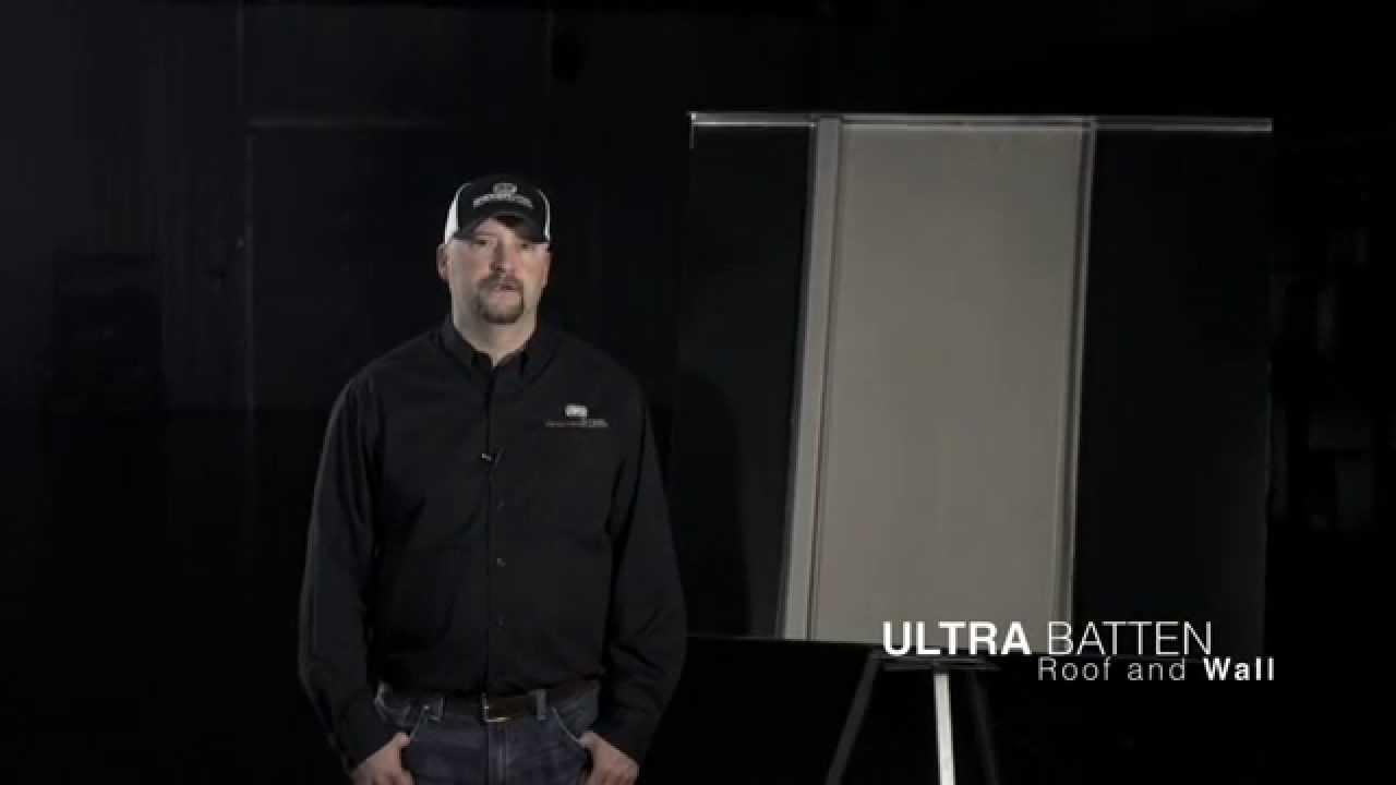Bridger Steel Ultra Batten Metal Roofing And Siding Panel