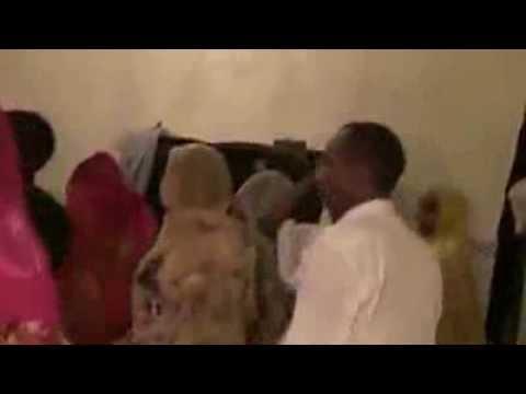Oromo Men and Women having Fun in the City of Riyadh, Saudia