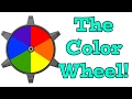 The Color Wheel Song - Learning Colors Song for Kids