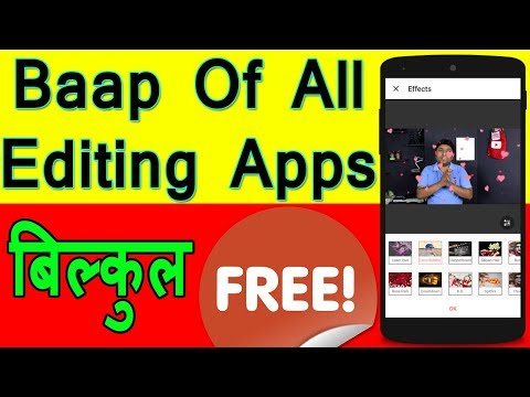 Best Professional Video Editing App For Android 2018 | Full Features Free | No Watermark