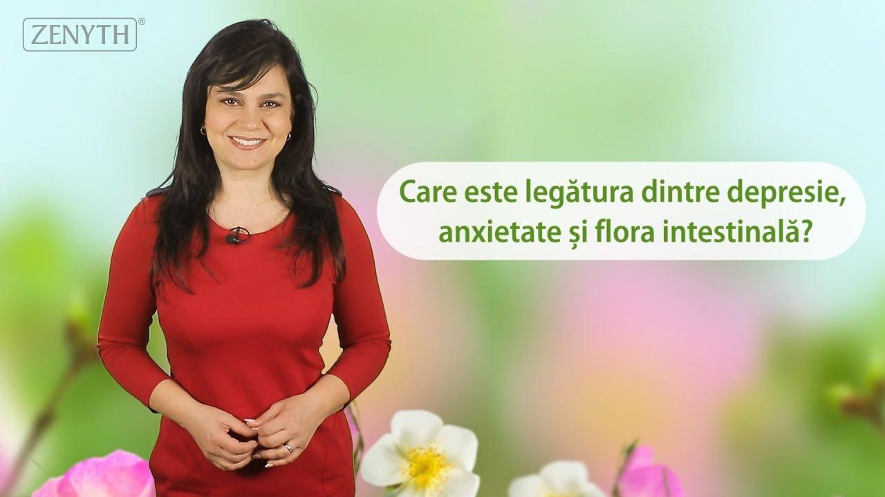 Depresie, anxietate, floră intestinală - Care este legătura?