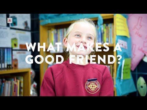 Little Voices: What Makes a Good Friend?