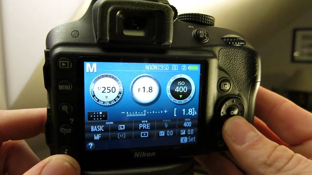 Nikon point and shoot with manual focus webcam
